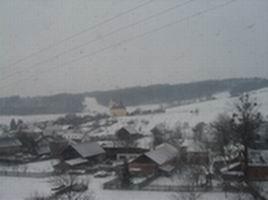 Lukavec v zimě