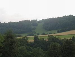 Pohled na kopec Čeřenec.